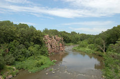 Palisade-Fluss Stockfotos