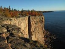 Palisade Head on Lake Superior Stock Photography