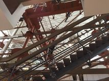 Palisaden Mittel- Innen-Skywalk Stockbild