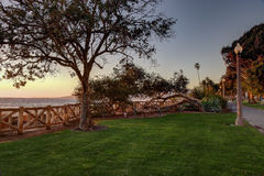 Palisades Park, Santa Monica California. Late afternoon at Palisades park,Santa Monica California Stock Images