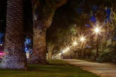 Palisades Park, Santa Monica California. After sunset at Palisades park,Santa Monica California Stock Photos
