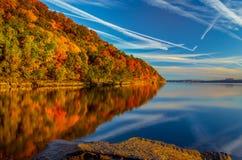 Palisaides au lever de soleil photo libre de droits