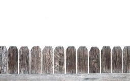 Palissade de barrière Photo libre de droits