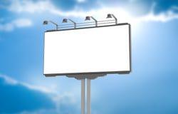 Palissade vide de publicité illustration libre de droits