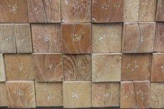 palissandro di legno dell'impiallacciatura della parete - strutture decorative Fotografia Stock Libera da Diritti