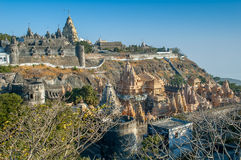 Palitana temple royalty free stock images