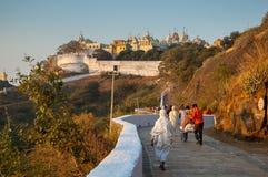 Palitana temple royalty free stock image
