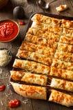 Palitos de queijo caseiros com Marinara Fotos de Stock
