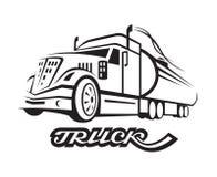Paliwowa ciężarówka Obrazy Royalty Free