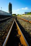 paliwowa kolejowa cysternowa wędrówka Fotografia Royalty Free