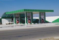 Paliwowa stacja w Irak obraz royalty free