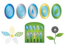 paliwowa zieleń ilustracji