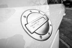 Paliwowego zbiornika nakrętka układ bawi się coupe Audi TT RS Fotografia Royalty Free
