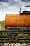 Paliwowy cysternowy furgon Zdjęcia Stock