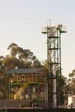 paliwowy mały rafinerii używać zdjęcie royalty free
