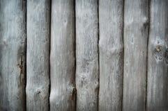 Palizada de madera del tronco Fotos de archivo