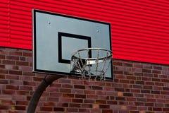 Palizzata all'aperto di pallacanestro Fotografia Stock