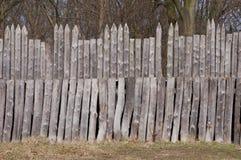 Palizzata di legno Fotografia Stock Libera da Diritti