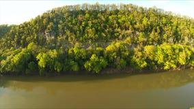 Palizzate del fiume del Kentucky video d archivio