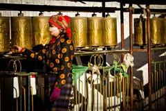 The Palkhor Monastery Gyantse Tibet Royalty Free Stock Image