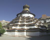 Palkhor Monastery in Tibet Stock Photography