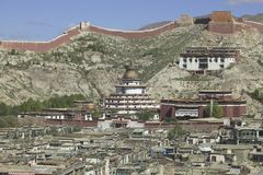 Palkhor Monastery in Tibet Royalty Free Stock Photo