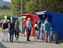 Palkovice Harvest Festival 2016 Royalty Free Stock Image