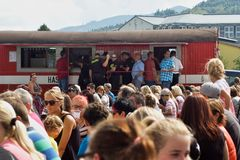 Palkovice Harvest Festival 2016 Royalty Free Stock Photos