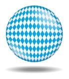 Palla bavarese isolata Immagini Stock