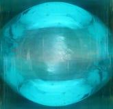Palla blu Fotografia Stock