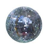 Palla brillante della discoteca, sfera fotografia stock libera da diritti