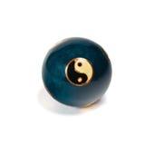 Palla cinese di vecchio yin yang per rilassamento Immagine Stock Libera da Diritti