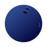 Palla da bowling con ombra Fotografia Stock