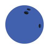 Palla da bowling piana dell'icona Fotografia Stock Libera da Diritti