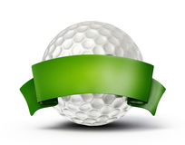 Palla da golf Immagine Stock