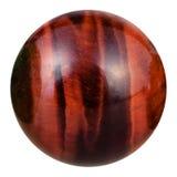Palla dalla pietra preziosa minerale naturale del centro Immagini Stock Libere da Diritti