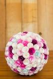 Palla dei fiori di carta Fotografia Stock Libera da Diritti