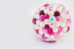 Palla dei fiori di carta Fotografie Stock Libere da Diritti