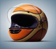 Palla del casco Fotografie Stock
