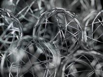 Palla del collegare di natale Fotografie Stock Libere da Diritti