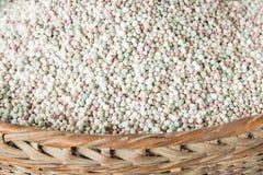 Palla del fertilizzante chimico Fotografie Stock Libere da Diritti