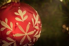 Palla dell'albero di Natale immagini stock