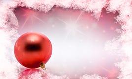 Palla dell'albero di Natale della decorazione Fotografia Stock Libera da Diritti
