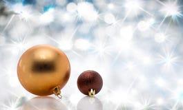 Palla dell'albero di Natale della decorazione Immagini Stock Libere da Diritti