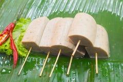 Palla della carne di maiale, Tailandia Fotografie Stock