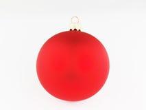 Palla della decorazione dell'albero di Natale Fotografie Stock Libere da Diritti