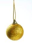 Palla della decorazione di Natale Fotografia Stock