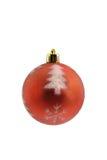 Palla della decorazione di Natale Immagine Stock