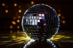 Palla della discoteca fotografie stock libere da diritti