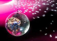 Palla della discoteca Fotografia Stock